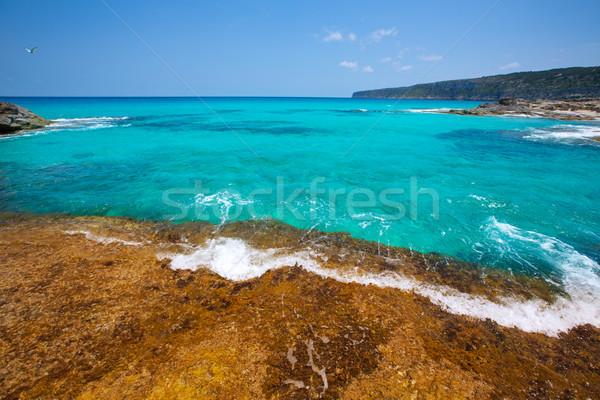 Formentera Escalo de San Agustin beach Stock photo © lunamarina