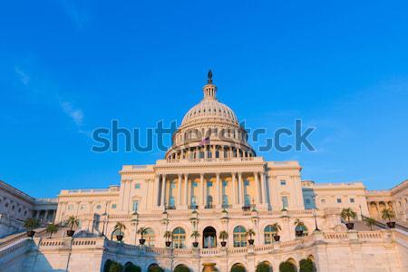 épület Washington DC napfény nap USA ház Stock fotó © lunamarina