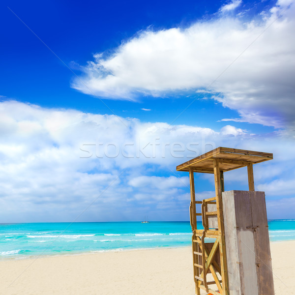 Strand eilanden majorca Spanje natuur landschap Stockfoto © lunamarina