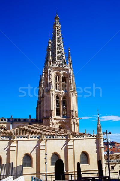 Catedral fachada manera cielo edificio Foto stock © lunamarina