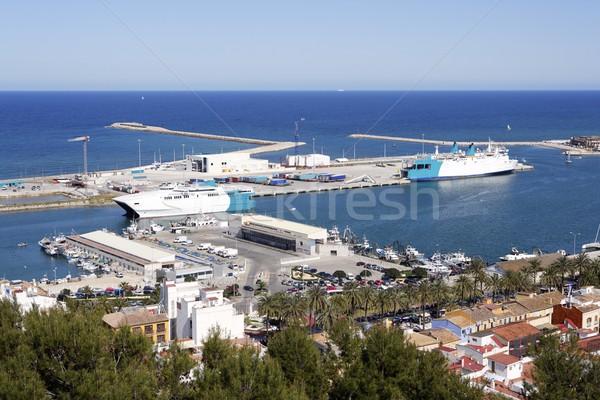 Espanha alto ver marina mediterrânico mar Foto stock © lunamarina