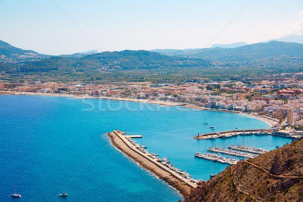 Xabia Javea Mediterranean village in Alicante Stock photo © lunamarina