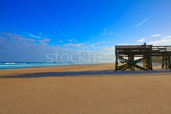 Spiaggia Florida USA acqua natura sfondo Foto d'archivio © lunamarina