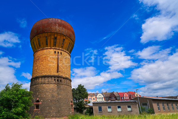 Nordhausen old water tank near Bahnhof in Germany Stock photo © lunamarina