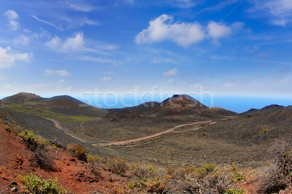 Teneguia volcano in La Palma Canary island Stock photo © lunamarina