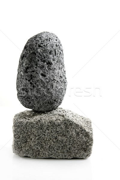 Volkanik granit tuğla taş beyaz doku Stok fotoğraf © lunamarina