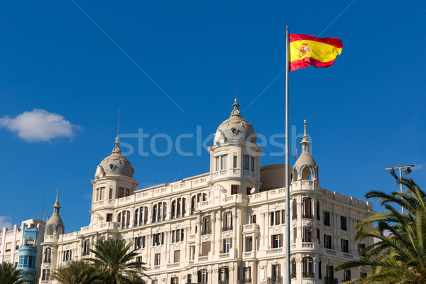 Alicante Explanada de Espana casa Carbonell in Spain Stock photo © lunamarina