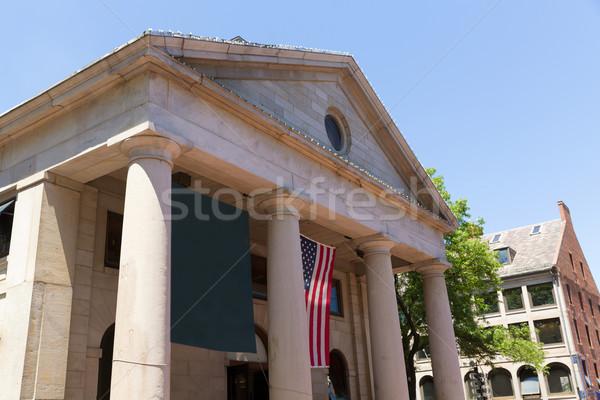 Boston marché façade Massachusetts USA ville Photo stock © lunamarina