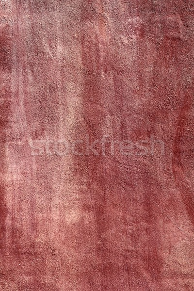 aged grunge red cement paint wall texture Stock photo © lunamarina