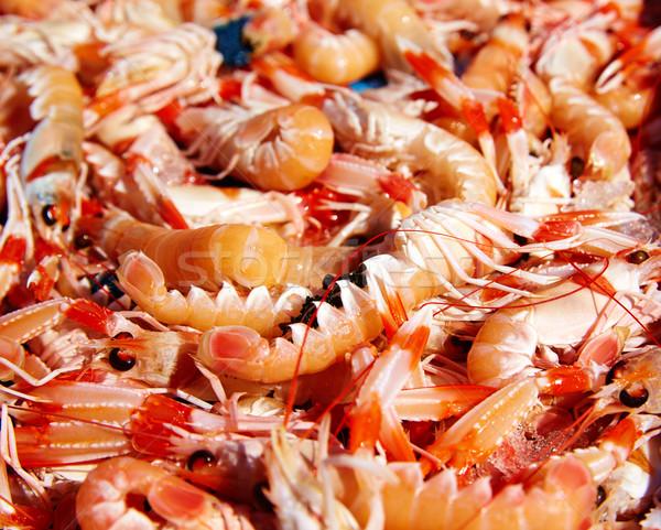 Mediterranean sea crayfish in Javea fish market  Stock photo © lunamarina