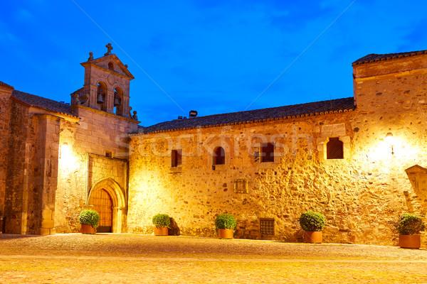 Caceres St Paul convent Spain Extremadura Stock photo © lunamarina