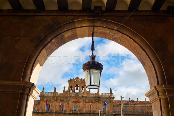 Salamanca Plaza Mayor in Spain Stock photo © lunamarina