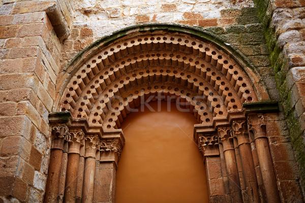 San Pedro Ildefonso church Zamora Spain Stock photo © lunamarina