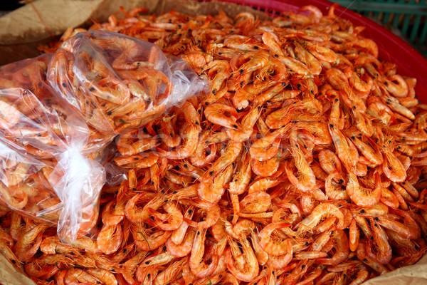 chiapas dried shrimp seafood market Mexico Stock photo © lunamarina