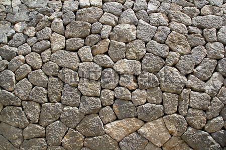 Grijs kalksteen metselwerk muur typisch majorca Stockfoto © lunamarina