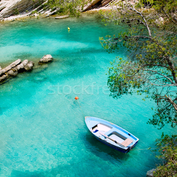 Turkus morze Śródziemne Hiszpania słońce ocean Zdjęcia stock © lunamarina