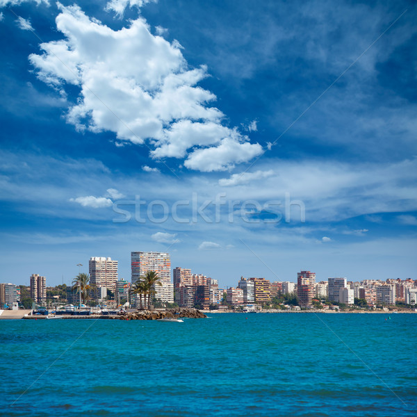 San juan strand Spanje water stad Stockfoto © lunamarina