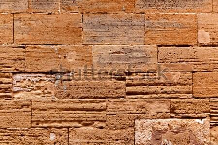 旧市街 メーソンリー 壁 テクスチャ マヨルカ島 島 ストックフォト © lunamarina