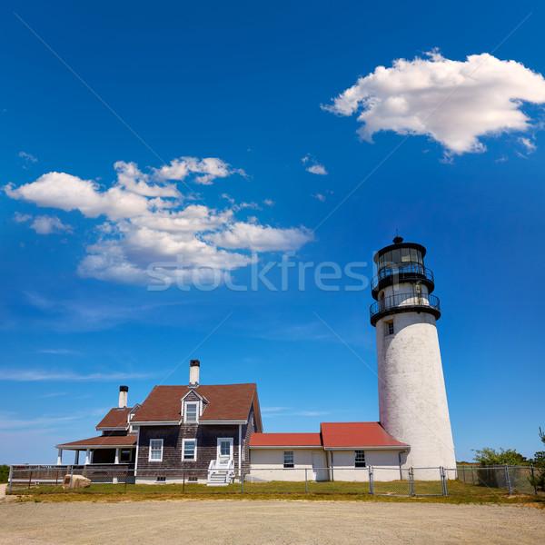 Cape cod phare Massachusetts USA printemps bâtiment Photo stock © lunamarina