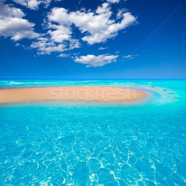 Fuerteventura Jandia Beach Sotavento Canary Stock photo © lunamarina