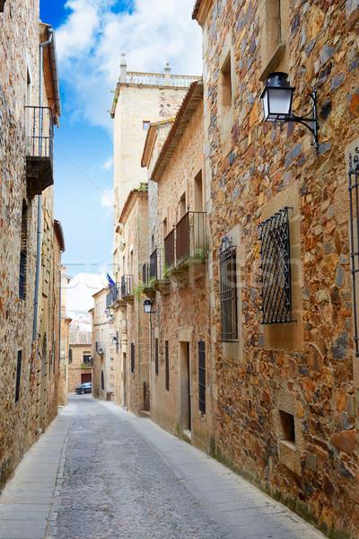 монументальный город Испания улице здании строительство Сток-фото © lunamarina