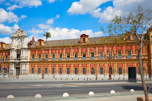 Seville Palacio San Telmo in Andalusia spain Stock photo © lunamarina