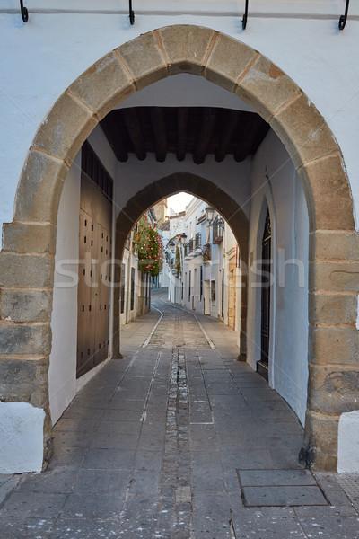 Zafra Arco de Jerez Puerta Arch Extremadura Stock photo © lunamarina