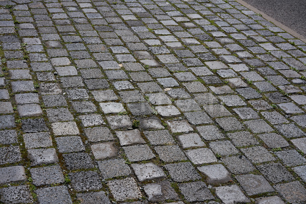 Granite cobblestone pavement in Germany street  Stock photo © lunamarina