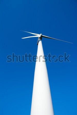 Сток-фото: Windmill · Blue · Sky · перспективы · небе · природы · пейзаж