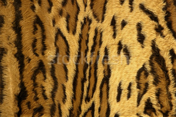 Jaguar leopard fantasy fabric fur texture Stock photo © lunamarina