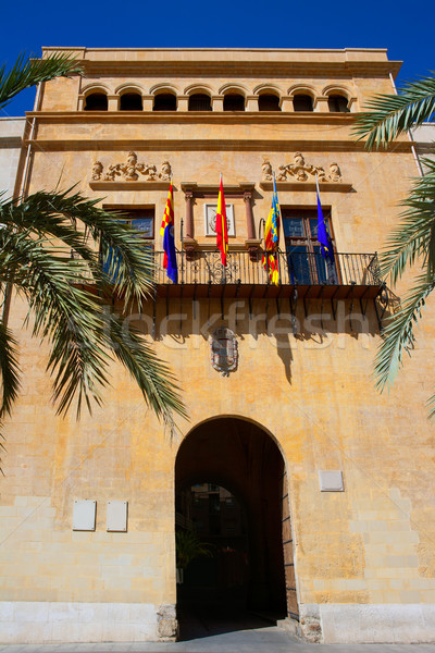 Elche Elx Alicante Ayuntamiento city town hall Stock photo © lunamarina