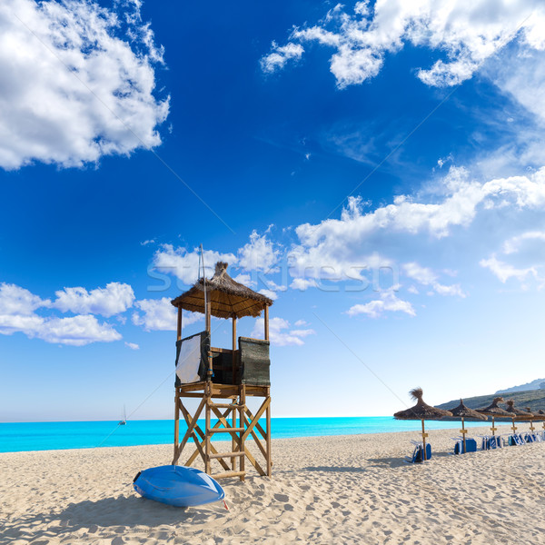 Strand majorca eilanden Spanje natuur landschap Stockfoto © lunamarina