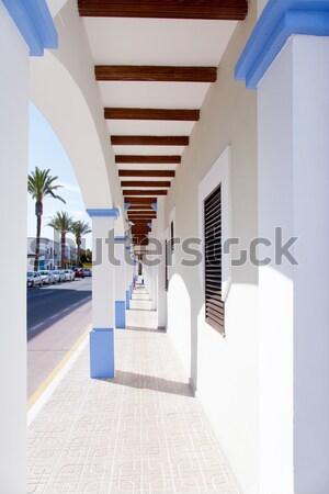 Stock photo: Majorca Balearic indoor house in Balearic Mediterranean style