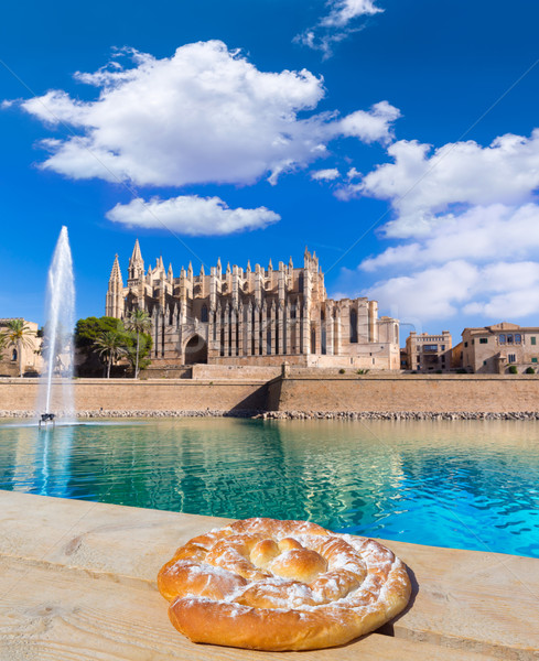 Majorca Palma Cathedral Seu Seo of Mallorca Stock photo © lunamarina
