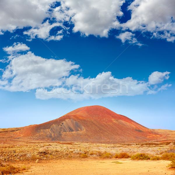 Lajares La Caldera mountain Fuerteventura Stock photo © lunamarina