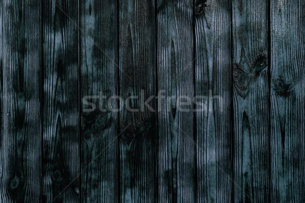 Grau Kiefer Holzstruktur rustikal Muster Textur Stock foto © lunamarina