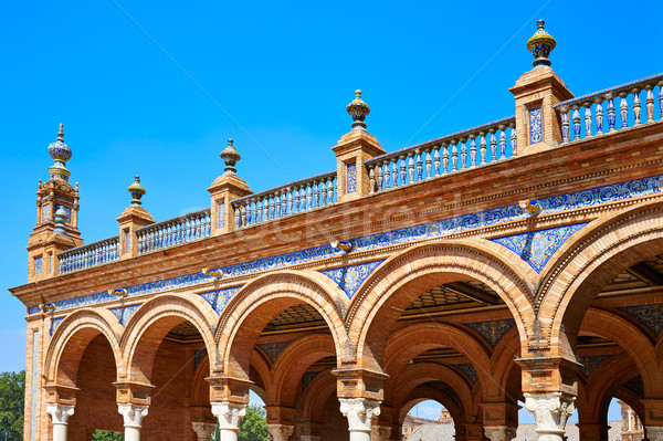 Stock photo: Seville Sevilla Plaza Espana Andalusia Spain
