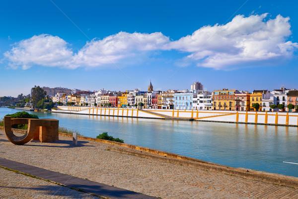 Triana barrio of Seville  Andalusia Stock photo © lunamarina
