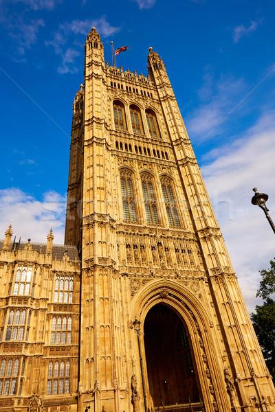 Westminster torre Big Ben Londres inglaterra edifício Foto stock © lunamarina