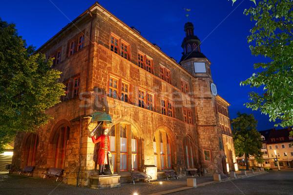 Duitsland stad hal zomer reizen gebouwen Stockfoto © lunamarina