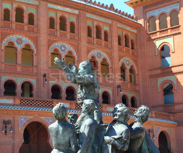 Madrid bullring Las Ventas Plaza Monumental Stock photo © lunamarina