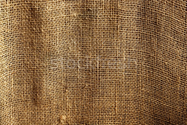 burlap sack vegetal brown texture background Stock photo © lunamarina