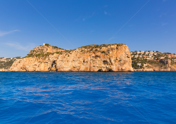 Javea Isla del Descubridor Xabia in Alicante Stock photo © lunamarina