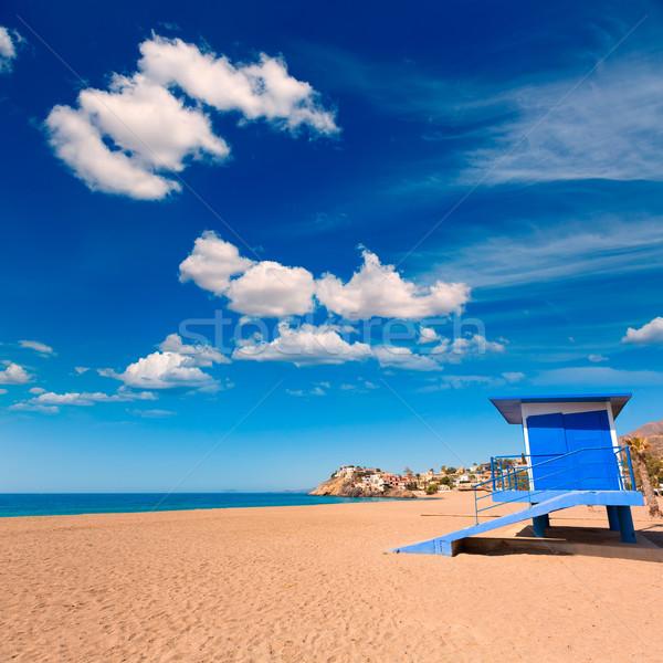 Bolnuevo beach in Mazarron Murcia at Spain Stock photo © lunamarina