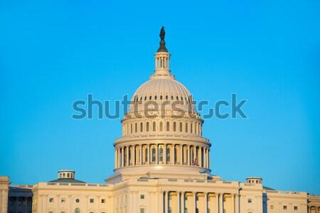 Foto stock: Edifício · cúpula · Washington · DC · congresso · EUA · casa