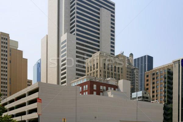 Даллас центра город городского мнение зданий Сток-фото © lunamarina