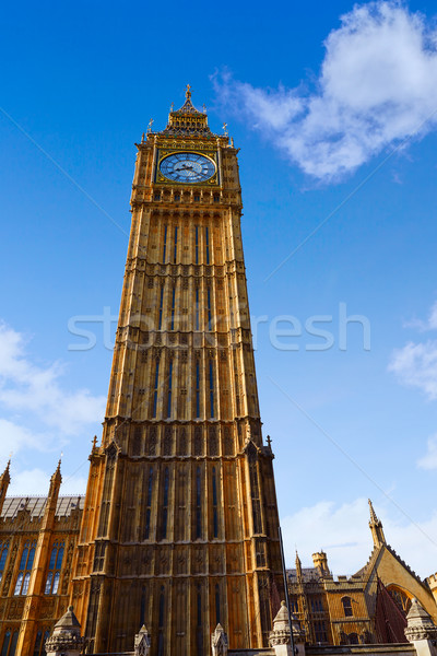 Big Ben saat kule Londra İngiltere şehir Stok fotoğraf © lunamarina
