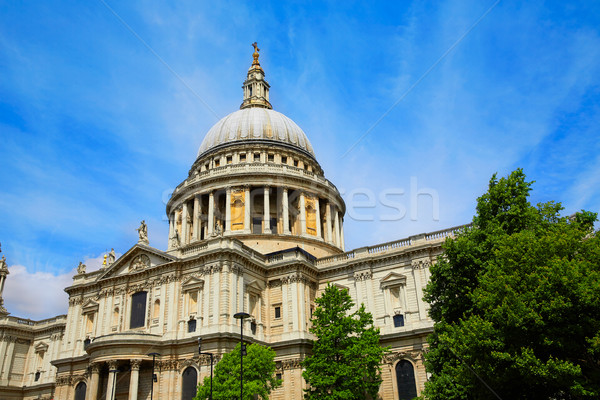 London St Paul Pauls Cathedral in England Stock photo © lunamarina