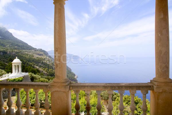 Deia mirador des Galliner Son Marroig Majorca Stock photo © lunamarina