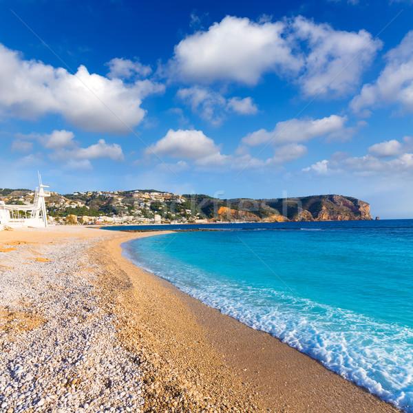 Javea Xabia playa Benissero Muntanyar in Alicante Stock photo © lunamarina